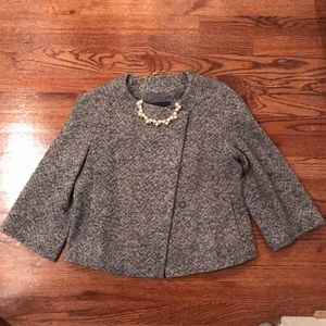 Banana Republic Tweed Crop Jacket